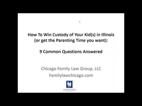 Win Custody of Your Kids:  9 Questions Answered