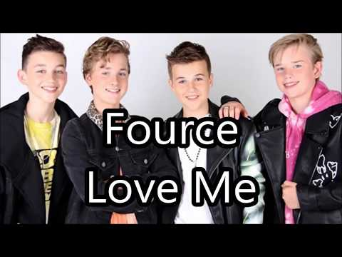 Fource - Love Me  | lyrics