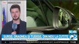 Surse: Premierul Mihai Tudose și șeful PSD, Liviu Dragnea, din nou la cuțite