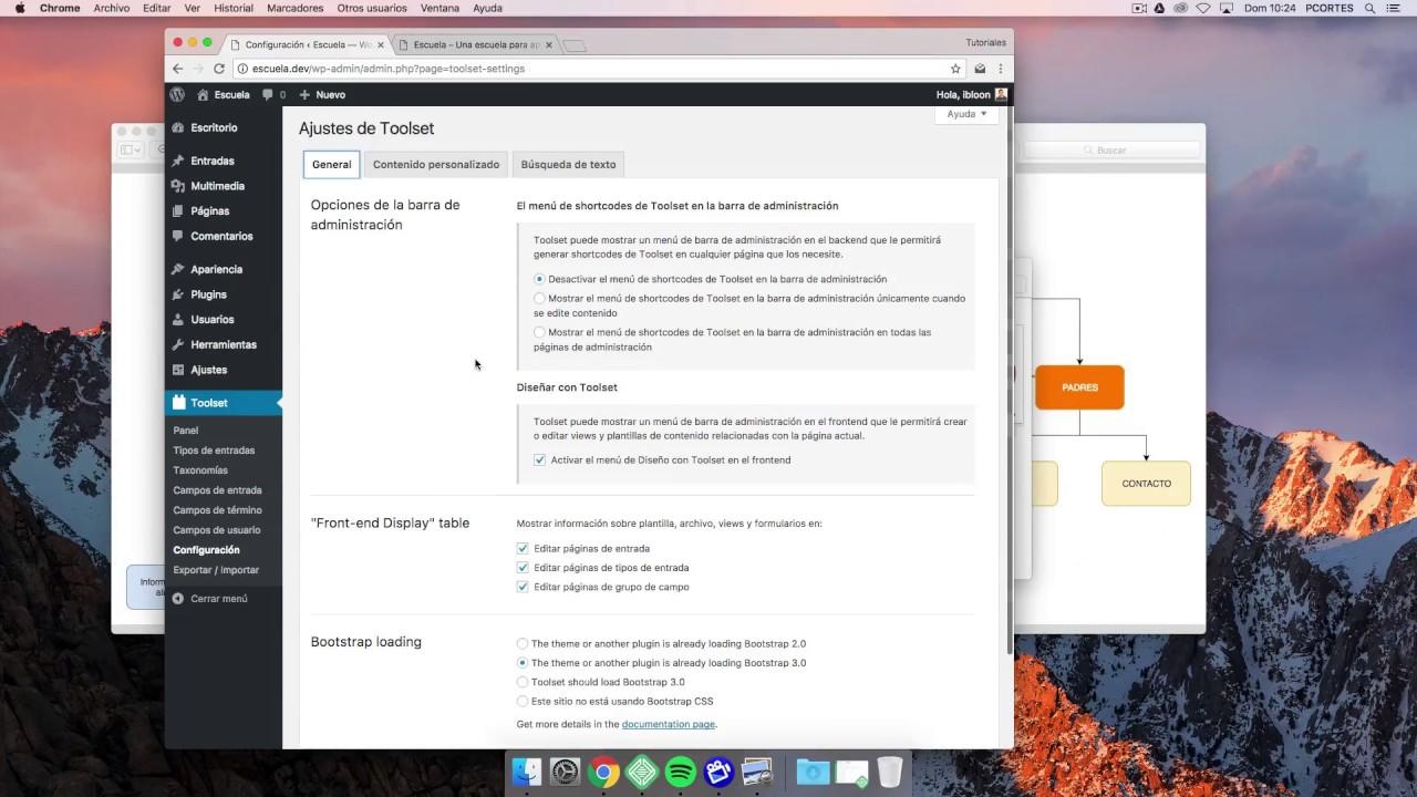 Cómo personalizar Post en WordPress con Toolset: Fase 1 - Configuración - YouTube