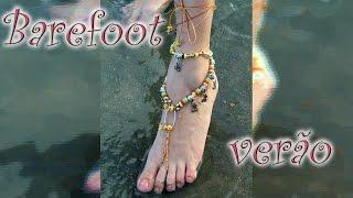 Especial de verão: barefoot de miçanga