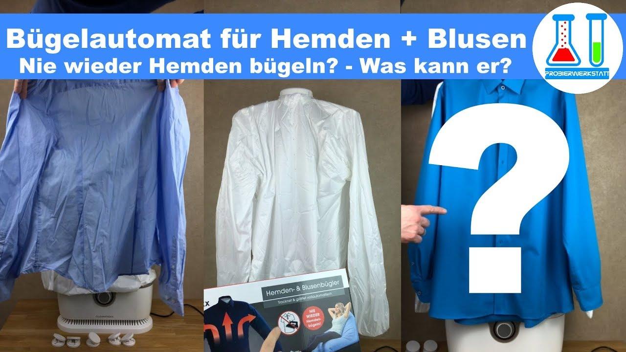 09397b2608aa Für ca. 60 € nie mehr bügeln  Automatischer Hemden und Blusen Bügler ...
