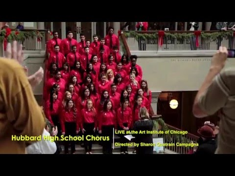 Hubbard High School Chorus at the Art Institute of Chicago 2015