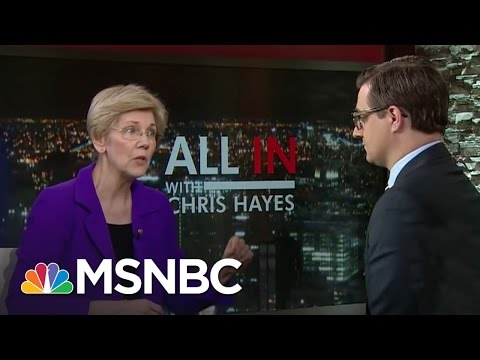 Sen. Elizabeth Warren Calls GOP Bill