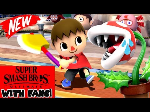 Super Smash Bros Ultimate | I 1V1 a Fan And You Will Never Guess What Happened... thumbnail