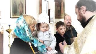 крещение Таисии 2012 клип под музыку