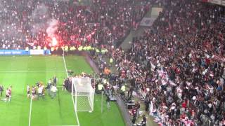 PSV - Heerenveen 4-1  2014-2015 Laatste minuten + Ontlading