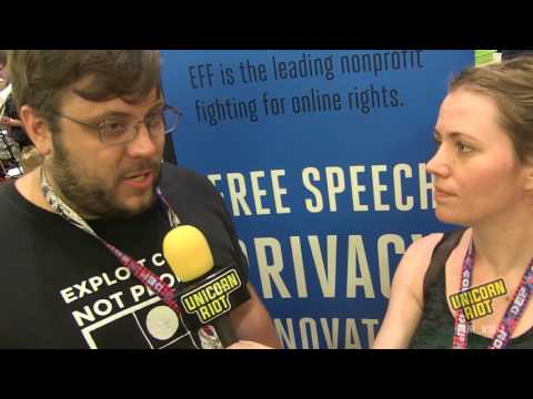 EFF at DEFCON 25:  Interview w  the Electronic Frontier Foundation