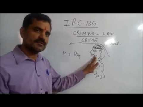 Introduction to Indian Penal code 1860