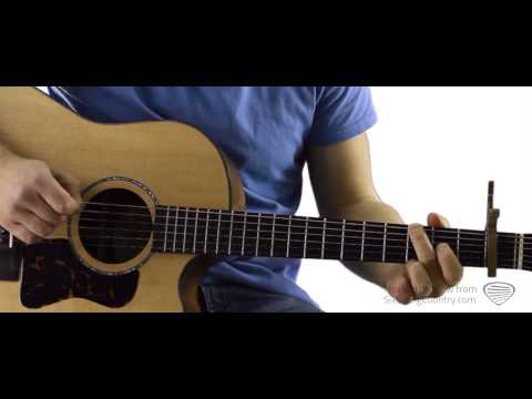 Drink A Beer - Guitar Lesson And Tutorial - Luke Bryan
