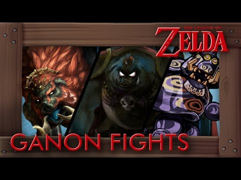 Evolution of Ganon Battles in Legend of Zelda Games (1986-2016)