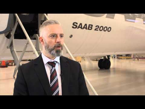 Jonas Härmä on the Swordfish Maritime Patrol Aircraft