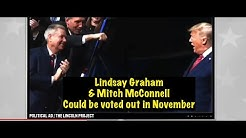 Mitch McConnell & Lindsey Graham facing November loss as Teamtrump Bootpolishers feature in New Ad