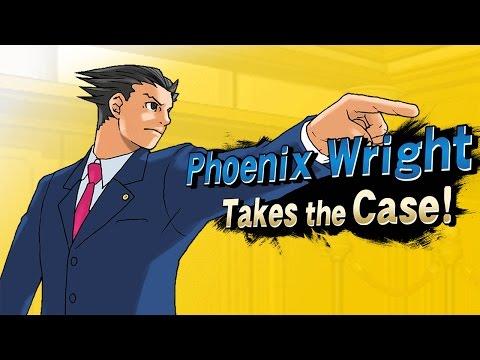 Super Smash Bros. - Phoenix Wright Takes the Case!