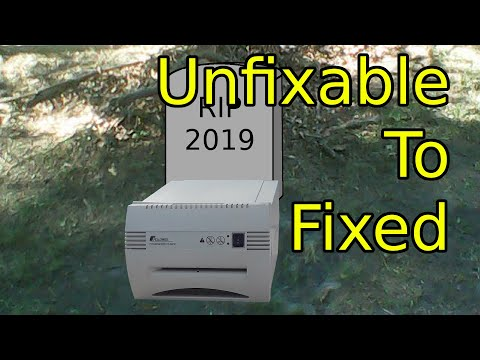 Paper Shredder Repair 2019 Pt1