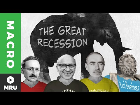Game of Theories: The Great Recession