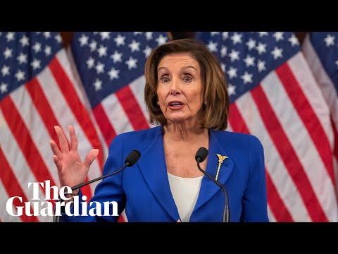 'As the president fiddles, people are dying': Nancy Pelosi slams Trump's coronavirus delays