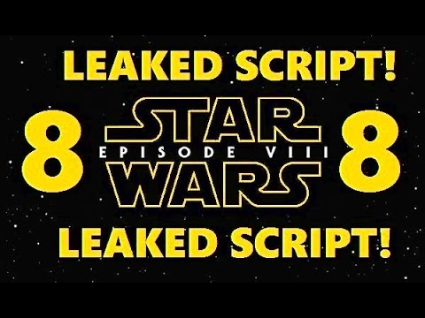 STAR WARS MOVIE EPISODE 8 PLOT SCRIPT LEAKED! RISE OF THE RESISTANCE THE LAST JEDI