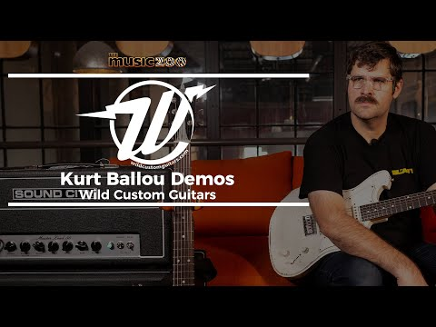 Kurt Ballou Demos Wild Custom Guitars at The Music Zoo!