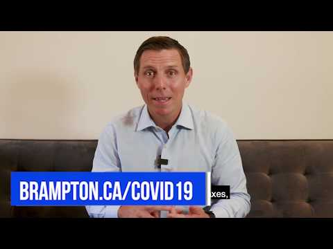 Mayor Patrick Brown's update to residents on the City of Brampton's response to COVID-19