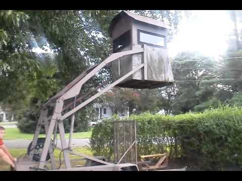 Hydraulic Tree Stand Youtube
