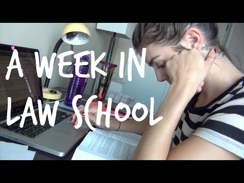 LAW SCHOOL VLOG | A Week in Law School