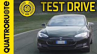 Tesla Model S P90D Performance 2016 - Test drive con Paolo Massai