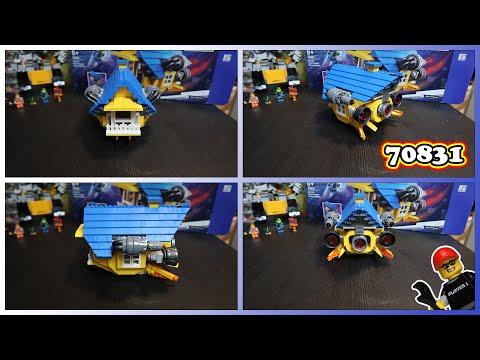 Let's Build! LEGO Movie 2 Rescue Rocket! 70831