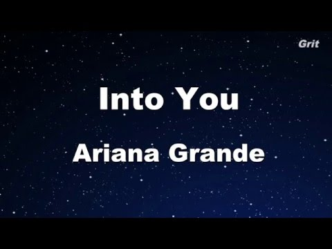 Into You - Ariana Grande Karaoke 【With Guide Melody】 Instrumental