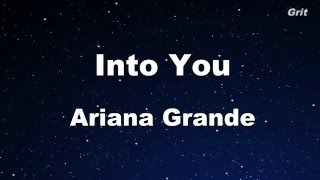 Download lagu Into You - Ariana Grande Karaoke 【With Guide Melody】 Instrumental