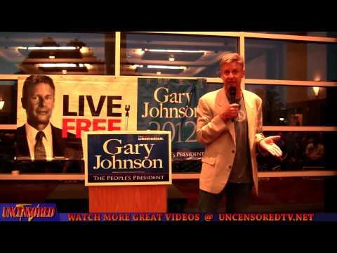 Gov. Gary Johnson Speech at The University of New Mexico (2012-10-15)
