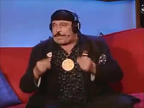 Iron Sheik Going Crazy You Dumb Son of a Bitch! Howard Stern