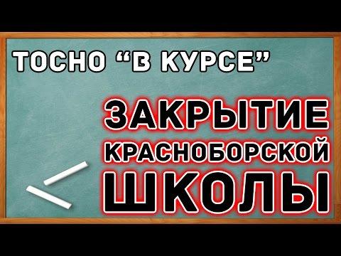 """ТОСНО """"В КУРСЕ"""" - ЗАКРЫТИЕ ШКОЛЫ"""