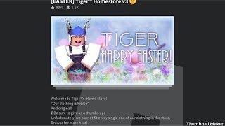 Royal High caça à Páscoa | Tiger Homestore | Roblox