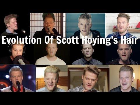 Evolution of Scott Hoying's Hair
