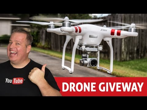 DJI Phantom 3 Drone Giveaway!How to do Contests & Giveaways on YouTube