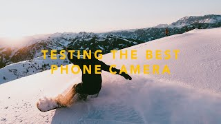 PHONE TEST WITH PROFESSIONAL SNOWBOARDERS! 108MP Penta Camera (Mi Note 10 )