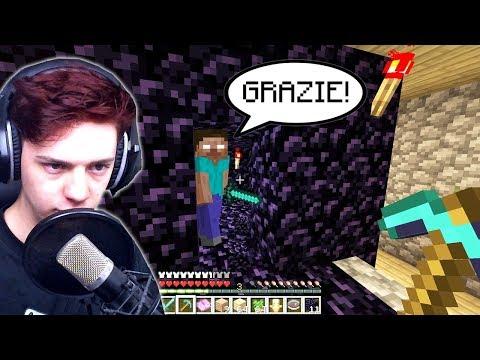 HO SALVATO HEROBRINE !!! *epico* - Minecraft ITA