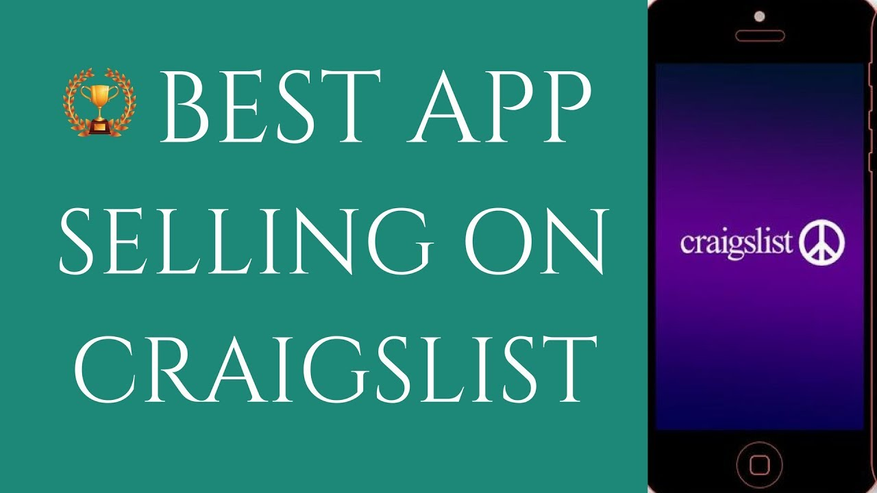 Best Craigslist App for iPhone (POST and SELL FAST on CRAIGSLIST Mobile)