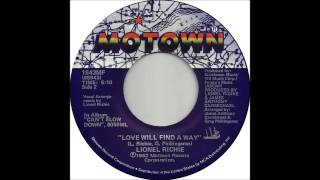 "Lionel Richie - Love Will Find A Way (Dj ""S"" Bootleg Extended Re-Mix)"