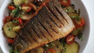 Տապակած Ձուկը Կարտոֆիլով - Fried Fish and Potatoes - Հեղինե - Heghineh Cooking Show in Armenian