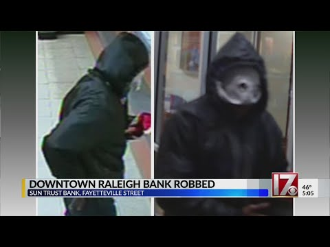 Man Wanted After Robbery At Downtown Raleigh SunTrust Bank, Police Say