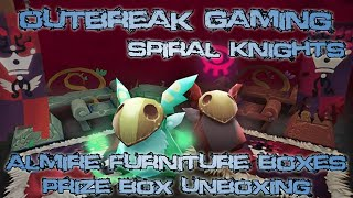 Outbreak Gaming - Spiral Knights - Almire Furniture Box Unboxing!