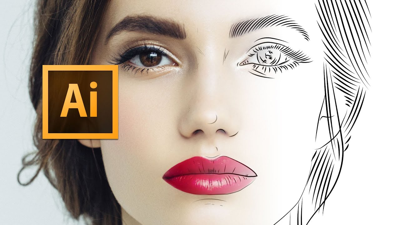 Line Art Adobe Illustrator : Adobe illustrator cc line art tutorial tips
