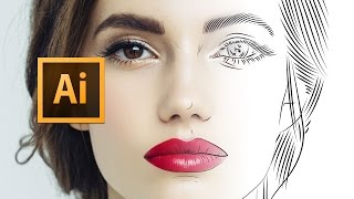 Adobe Illustrator CC - Line Art Tutorial 2016 - Tips, Tricks & Shortcuts