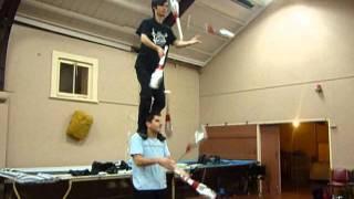 7 club passing 2 high juggling