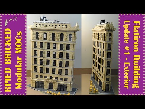 LEGO MOC - Flatiron Building - Update #1