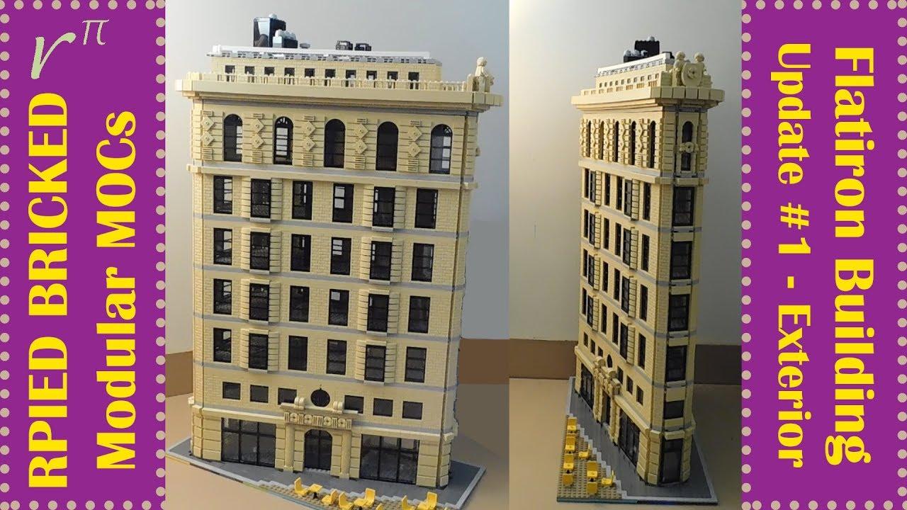 LEGO MOC - Flatiron Building - Update #1 - YouTube