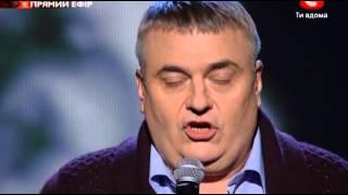Х-фактор 3. Яков Головко. 3 прямой эфир 10.11.2012