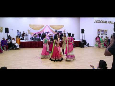 Hemali & Chetan - Chetan's Family Dance Performance